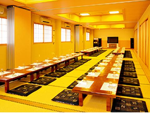 吉田町魚金寿し・宴会場