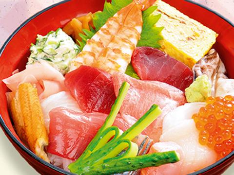 吉田町魚金寿司 海鮮丼
